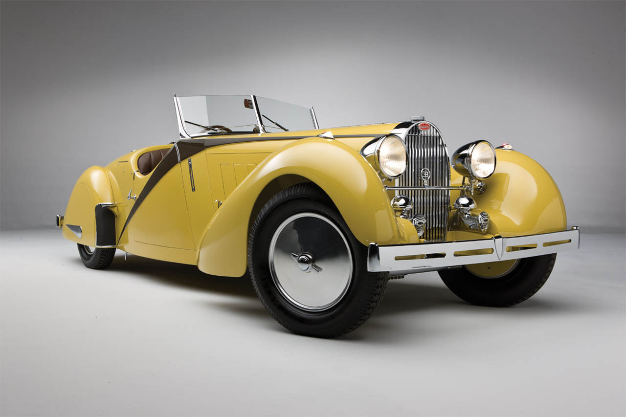 coolerthanbefore:  1935 Bugatti Type 57 Roadster