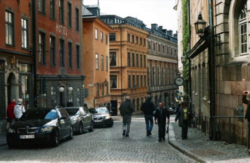 Old City, Stockholm | Shot with a Fed 5 and Agfa Vista 100 (expired 2004) provided by Revolog