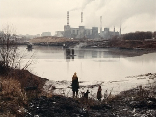 "Andrei Tarkovsky, Stalker, 1979 ""Popular folklore would have us believe that deep in the underworld there are ruthless men who fear nothing. This story should debunk that myth."""