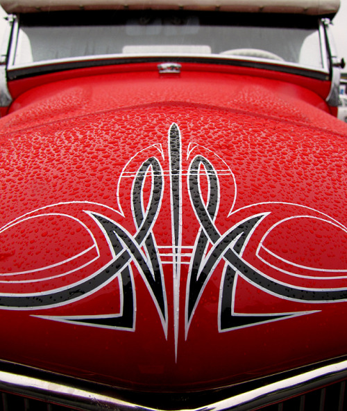 Detail shot from the 2011 Rose City Round-Up traditional hot rod show. Image © Vintage Roadside