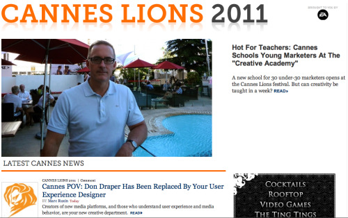 "Can you teach creativity? The Cannes Lions festival says yes. Read all about the ""Creative Academy"" right here.  Over the past several years, Cannes has gone from ""spring break for  ad creatives"" to a more structured and serious forum on marketing and  brand creativity (albeit one with Nick Jonas weighing in). Last year,  Cannes also quietly rebranded itself from an advertising festival to a  Festival of Creativity, to reflect the show's, and the industry's  expanding mandate. Fast Company will be on the ground in Cannes  this year to make sense of it all, and to report on the state of global  marketing and advertising today.  If you're at Cannes share your pictures with us! We'll feature you on FastCompany.com. All the details here."