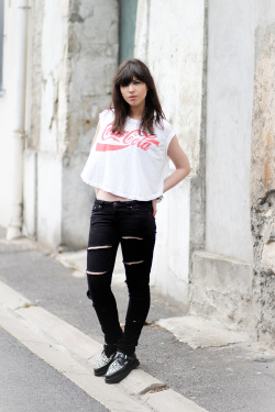 le blog de betty in chaser's coca-cola muscle tee <3