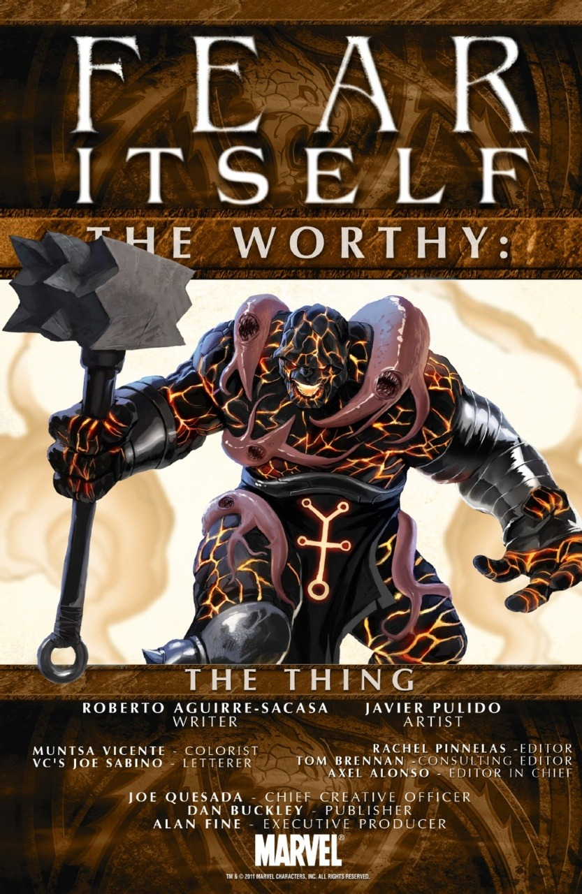 Fear Itself: The Thing
