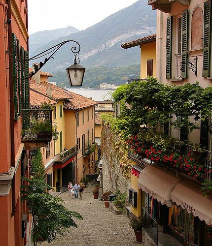 waterlilyjewels: Bellagio on Lake Como, Italy by John in Scotland