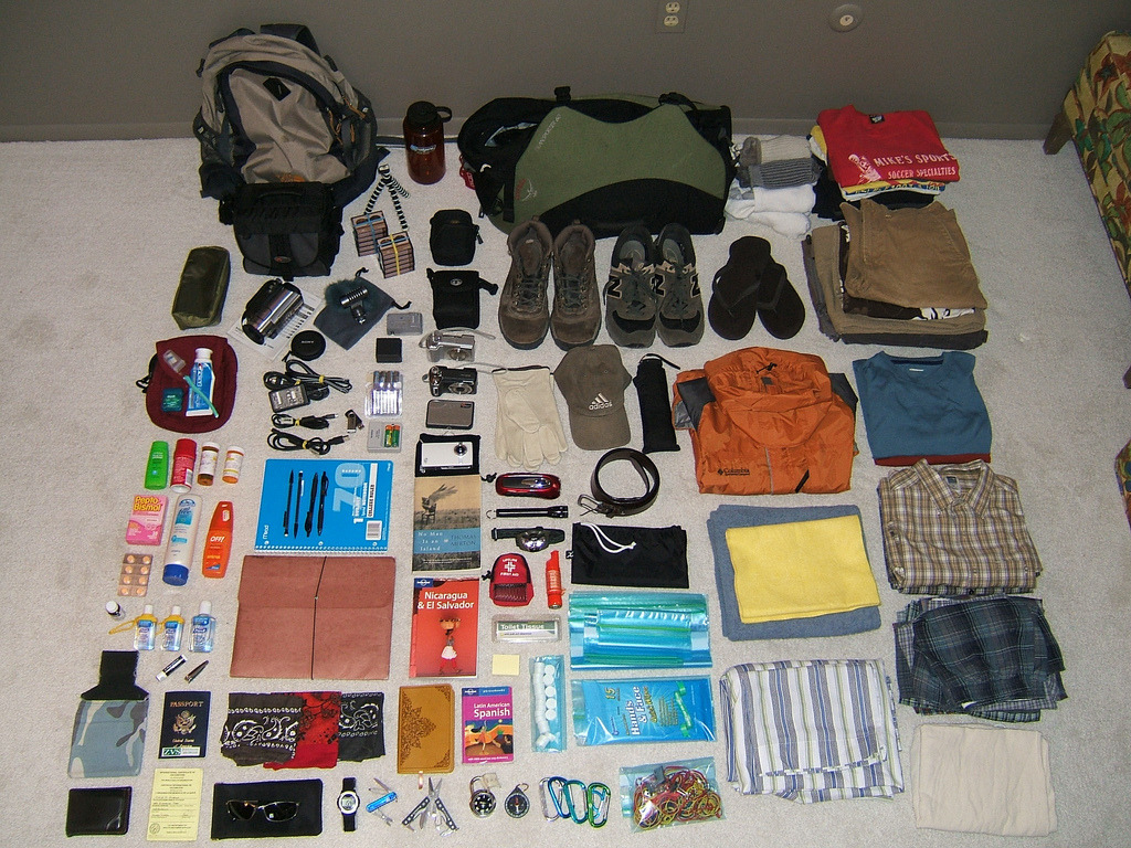 packlite:  One month in El Salvador