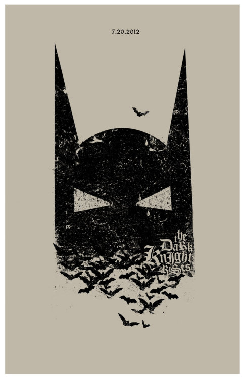 fuckyeahmovieposters:  The Dark Knight Rises Made and submitted by Adam Juresko  Awesome poster.