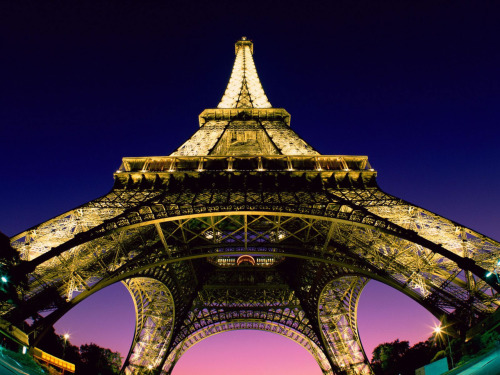 Amazing view of the Eiffel Tower, Paris, France