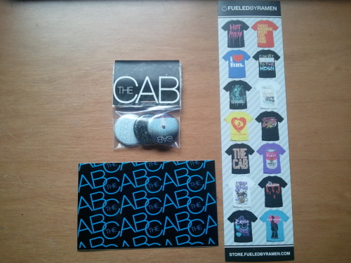 symphonysoldiers:  Giveaway 3: The Cab Bundle 1This bundle contains a sticker, a bookmark, and a set of 3 fairly rare Whisper War buttons, and will run from Monday, June 20th to Monday, June 27th. Rules Anyone in the world may enter. (no interplanetary shipping, sorry!) To enter, you must like and/or reblog this post. You're welcome to do so as many times as you like- at the expense of being really, really annoying to your followers. Your call. At the end of the giveaway, a winner will be chosen using random.org. The winner will be notified via ask box- if you win and I can't contact you, someone else will get your bundle! Following me is not required to enter, but recommended- I'll post important updates on this and other giveaways. All posts relating to the giveaways will be tagged summer 2011 giveaways. Good luck!