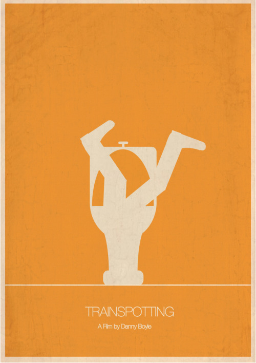 hjeltmangraphics:  Trainspotting - Movie Poster by Måsse Hjeltman