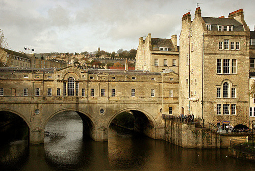 Pultney Bridge, Bath, Autumnal Light (by Jim_Higham)