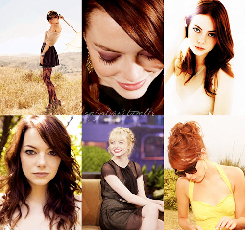 6 fav pics emma stone leave the name of any celeb in my mailbox & i will post my 6 fav pics
