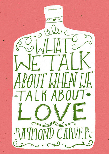 What We Talk About…. (by Lizzy Stewart)