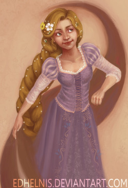 It's finally done! I've been working on this for weeks. Rapunzel is the cutest girl. Tangled is definately my new favourite. :)
