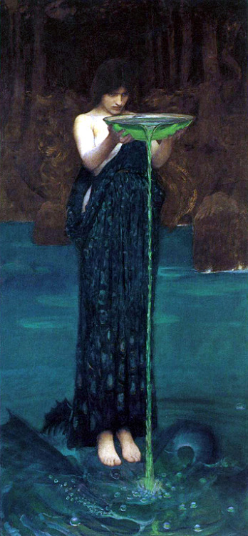 ilikeartalot:  Circe Invidiosa by John William Waterhouse