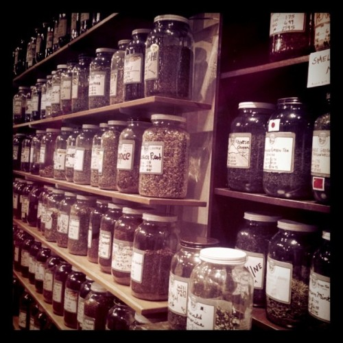 Oh boy, I'm in TEA heaven @ Marketplace Seattle (Taken with instagram)