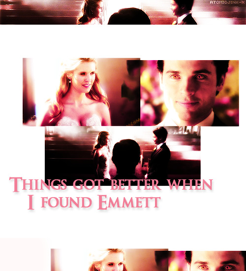 Things got better when I found Emmett.