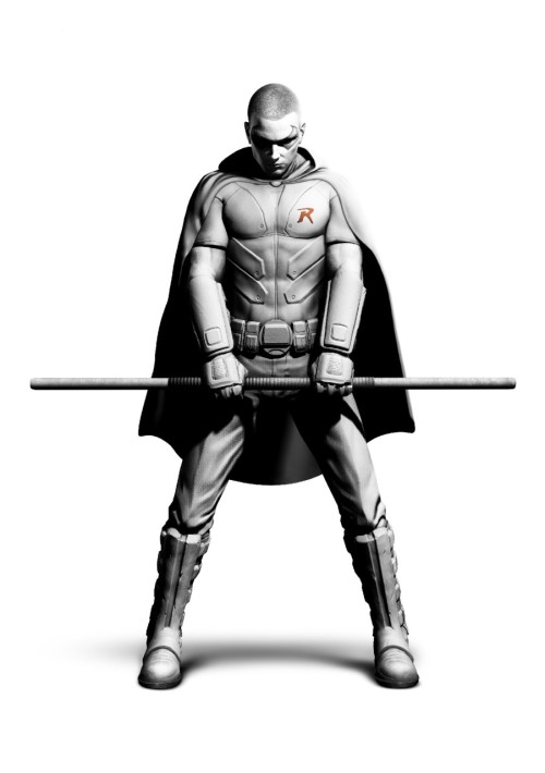 fanaticalmind:  artevius:  Robin render from Arkham City | Not bad I'm looking forward to kicking some ass with The Boy Wonder.  Word bro. The Boy Wonder himself.