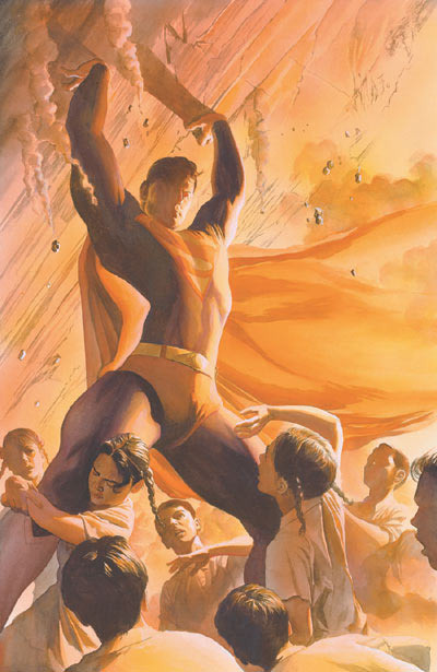 comicartappreciation:  Superman // Alex Ross