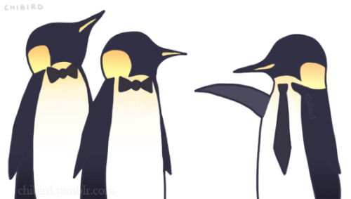 "Penguin fashion sense is hilarious. xD I was debating whether to put some text in (""what's up, guys?"" 8D), but decided against it."