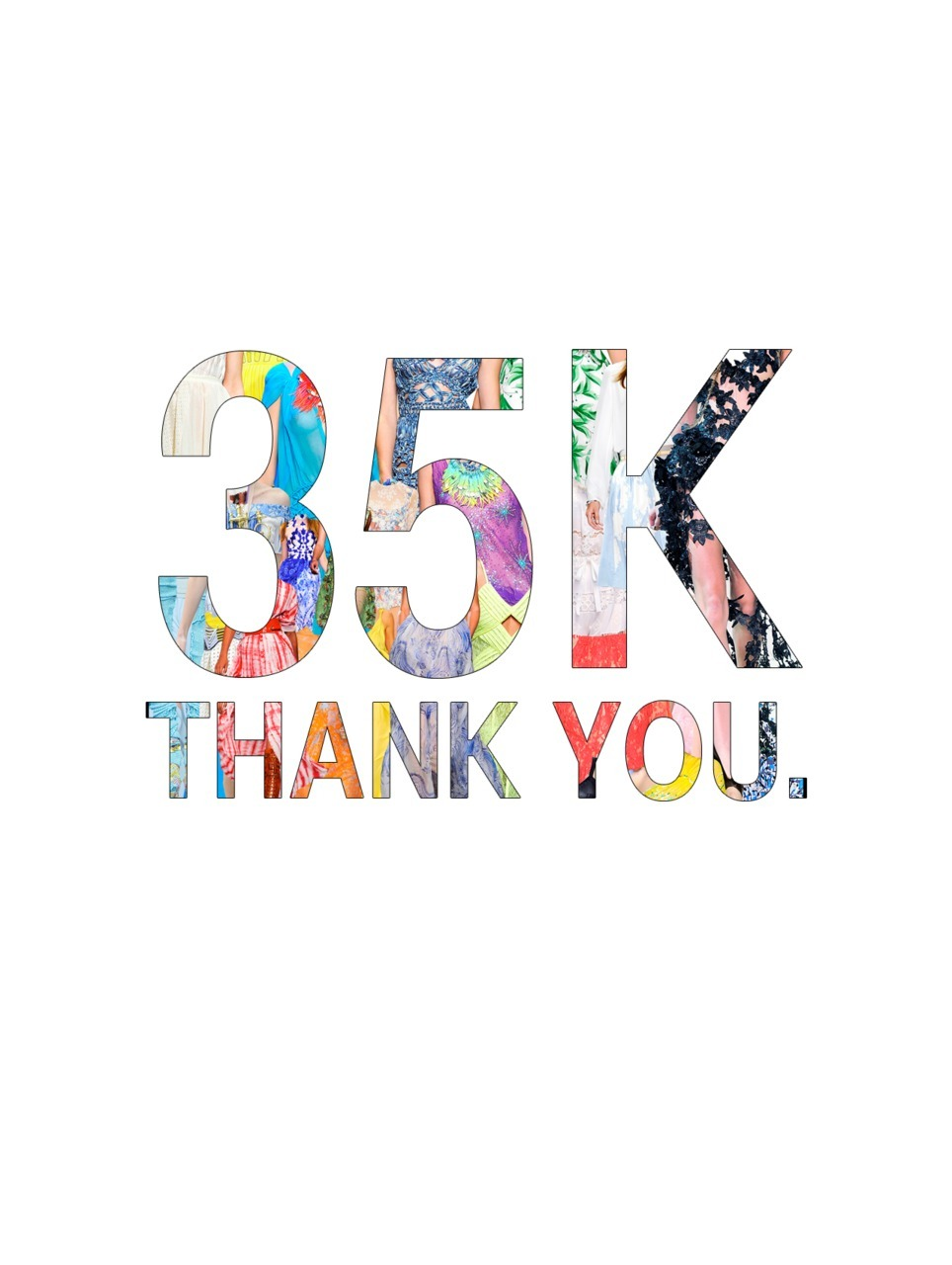Hit 35,000 followers today. Thanks everybody.