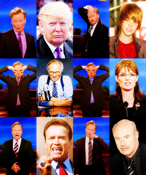 conanofallon:  The Conan O'Brien Gallery of Impressions
