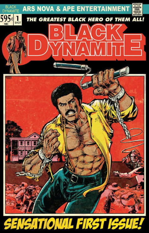 theotherblack:  First issue of Black Dynamite