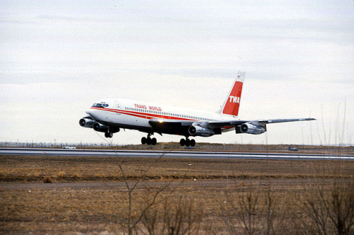 TWA 707 by Peter Diego on Flickr.
