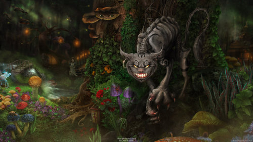 Cheshire Cat // by Omri Koresh Blog | deviantART