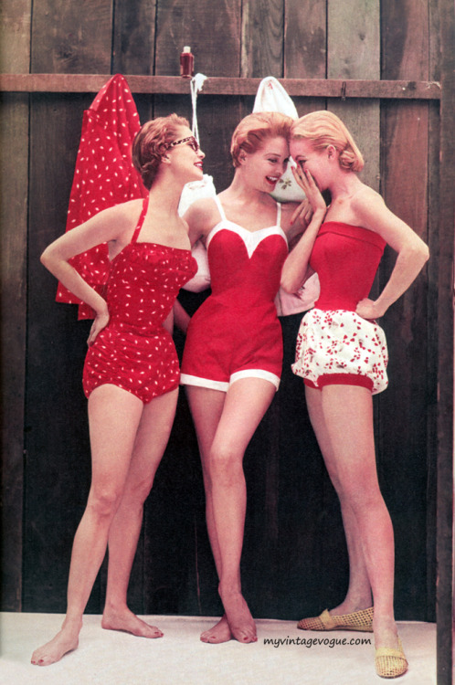 myvintagevogue:  Cole Swimwear 1954