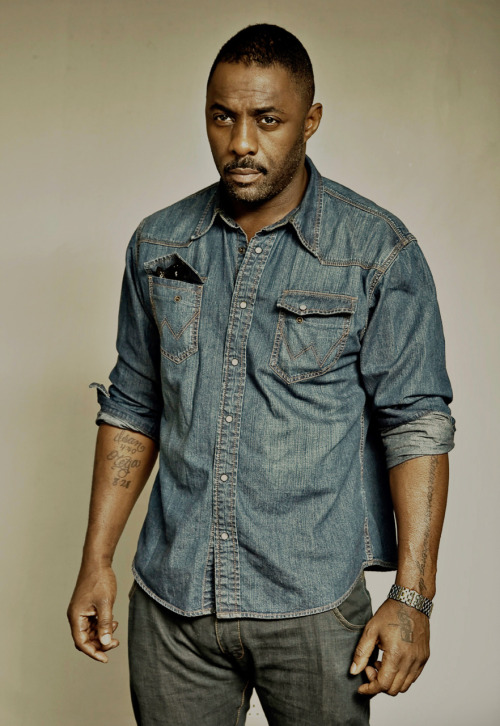 cloudsinmyeyes:  [Image description: Actor Idris Elba posing, staring just offscreen.] comingonstrong:  Oh shit.  Well, I…..gosh.