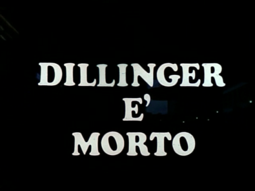 Dillinger è morto / Dillinger Is DeadDir: Marco Ferreri imdb>submit yours<