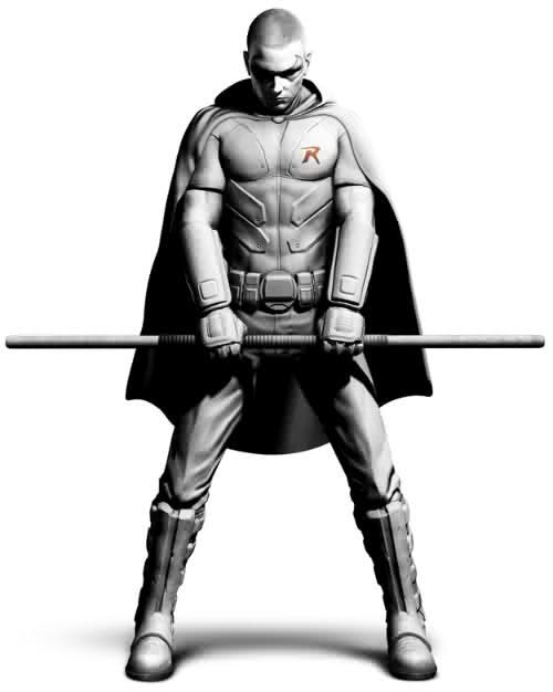 First look at Arkham City's Robin.