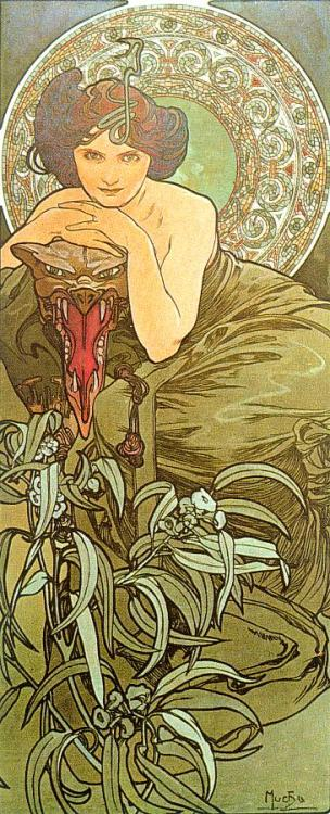 datmirrorninja:  A. Mucha, one of my favourite artists of all time.