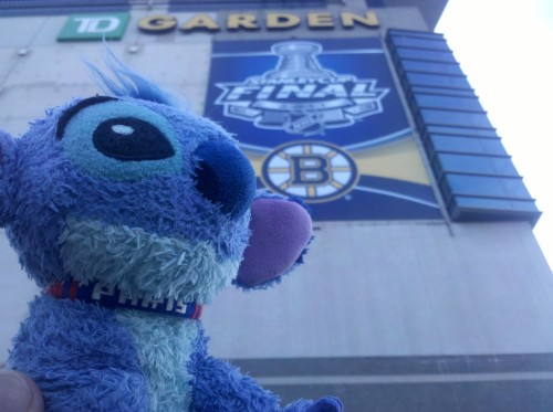 TD Garden in Boston, home of the 2011 Stanley Cup Champions- The Boston Bruins!!!