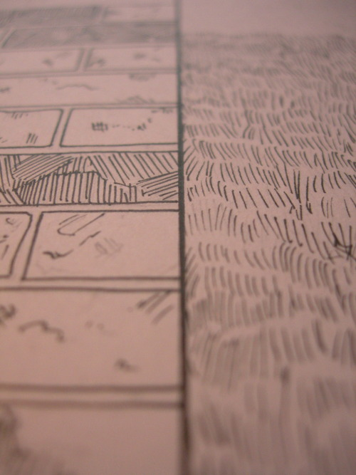 Pages in process for The Escapologist #2. More coming throughout the week…