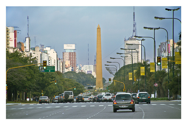 9 de Julio - Obelisk by Rodrigo Lopes B.A  on Flickr.