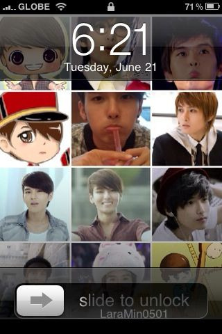 ~my iphone Lock screen for @ryeong9 Kim Ryeowook Birthday ^__^ #EternalWOOKDay! ^^