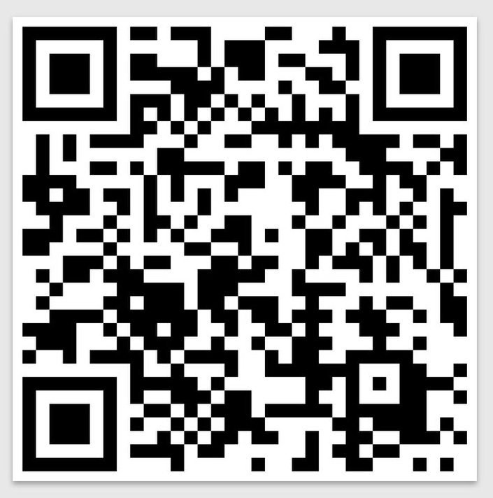 Does your phone have a QR scanner app? The scan the shit out of this ;)  We love you! :D