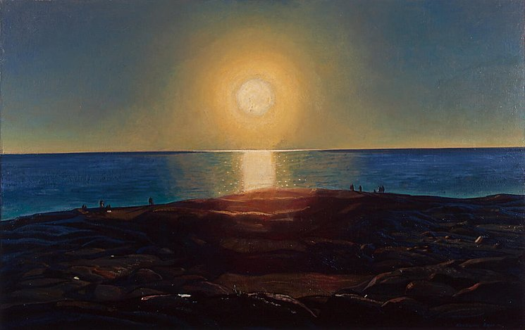 Rockwell Kent: Calm and Free, 1909. By way of Wood s Lot.