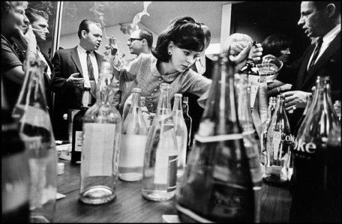 At an office party, NYC, 1966 Leonard Freed