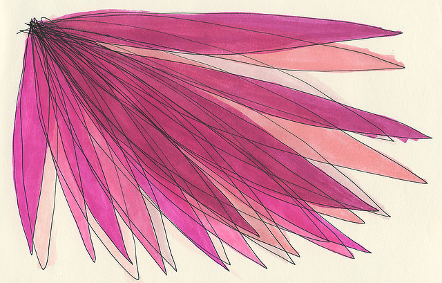 Flutter Bloom Pink (by a is for anika)