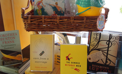 "God bless Watchung Booksellers, my local indie bookstore. My third novel, ""Cars from a Marriage"" just came out in paperback today. But according to Amazon, there is only one copy left in stock. Watchung, which knows me as the editor of Baristanet as well as a locally-bestselling novelist, has 10 copies, prominently displayed on its summer reading table. And the bookstore owner is going to add a note telling local book groups that I'm happy to come talk to them if they read my book. Now that's service. And context. Another reason why relationships matter. — Debbie Galant, Baristanet"