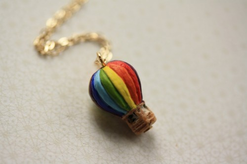 The Tiniest Peruvian Hot Air Balloon by Freshy Fig on etsy