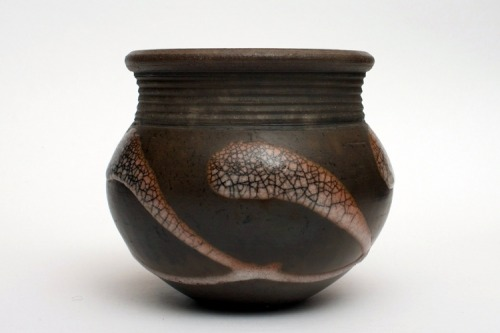 Tim Andrews: Raku Vessel