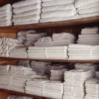 ysvoice:  | ♕ |  The linen cupboard - Hardwick Hall, Derbyshire  | via speciesbarocus