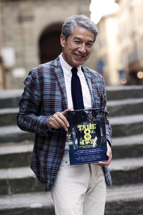 "The Sartorialist: Shiro Itoh of Take Ivy, Florence Rejoice, trads and Ivy style enthusiasts! ""Take 8 Ivy"", the sequel to the iconic book Take Ivy is on the way. If you're wondering what the '8' stands for, it appears that it represents the eight Ivy League schools."