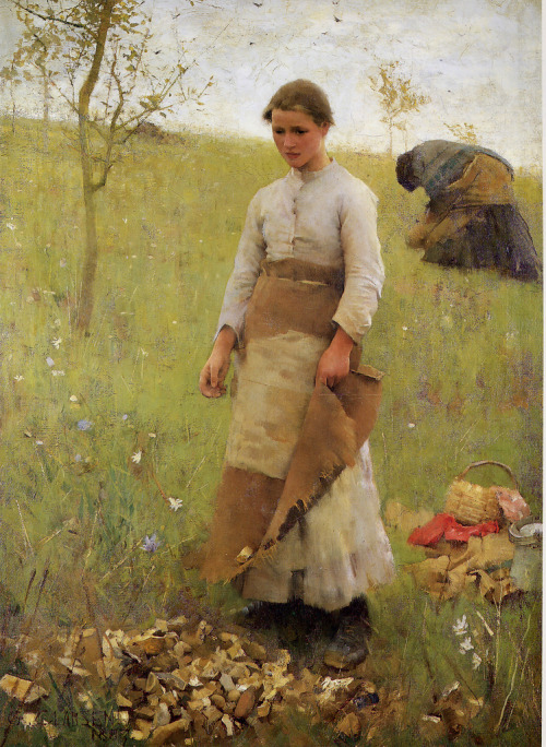paperimages:  George Clausen The Stone Pickers, 1887