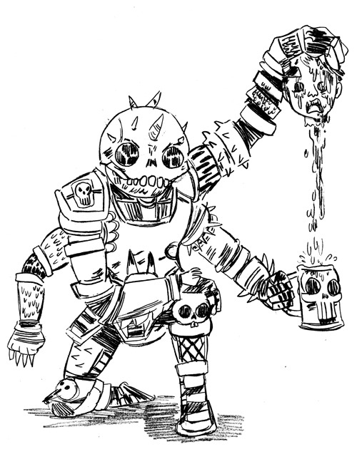 Here is another BONESTORM dude, I wonder if anyone else is as interested as I am in making a BONESTORM fanzine?