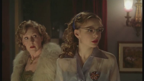 marplecaps:  Patricia Hodge, Carey Mulligan