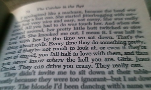 Salinger, JD. The Catcher in the Rye. 1951.